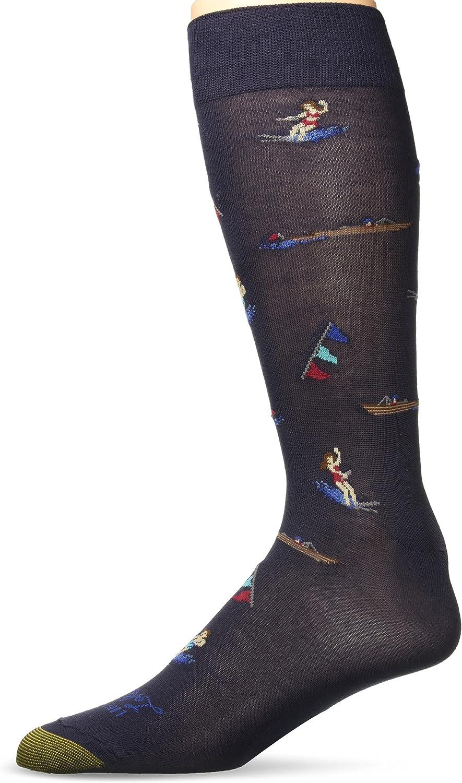Gold Toe mens Printed Novelty Max 69% OFF Crew Max 48% OFF Socks Dress Fashion Graphic