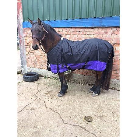 36 Cwell Equine New Mini Shetland Horse Fleece rugs Surcingles Navy White Star