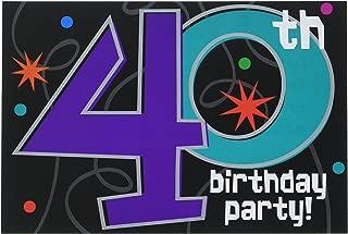 Best keep calm 40th birthday invitations Reviews