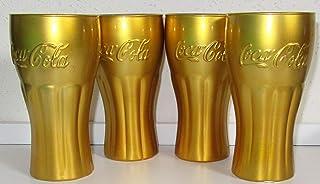 in Vetro 300 ml my-goodbuy24 Set di 6 Bicchieri Coca Cola