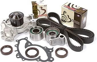 Evergreen TBK257WPT Fits 95-04 Lexus ES300 Toyota Solara Avalon Camry 1MZFE Timing Belt Kit Water Pump