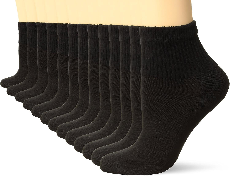 Hanes Women's 10-Pack (+3 Bonus) Core Cushioned Ankle
