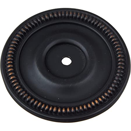 GlideRite Hardware 5060-ORB-10 2.5 inch Round Oil Rubbed Bronze Cabinet Back Plate 10 Pack