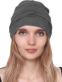 Deresina Cotton and Bamboo Sleep Cap for Chemo, Hair Loss