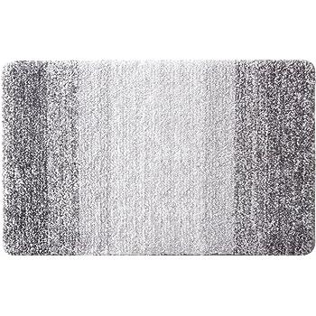 Aonewoe Alfombra Multifuncional Antideslizante 40 x 60cm Microfibra Alfombra de baño Gris: Amazon.es: Hogar