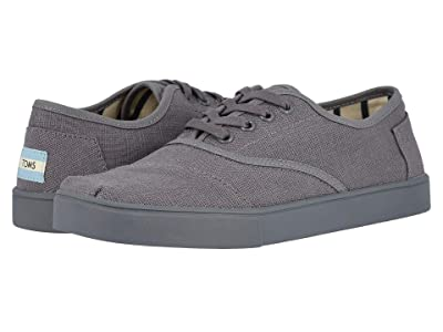 TOMS Cordones Cupsole (Shade Grey Heritage Canvas Cupsole) Men