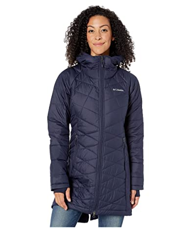 Columbia Heavenlytm Long Hybrid Jacket (Dark Nocturnal) Women