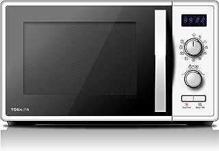 Toshiba MW-AG23P (WH) Horno de microondas con grill 900 W con Crispy 1050 W y cocción combinada, 23 l