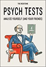 The Redstone Psych Tests: Analyze Yourself and Your Friends (Funny Psychology Gifts, Psychology Games, Gifts for Psycholog...