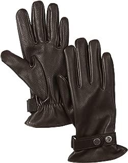 Aigle Deer Gloves Medium Dark Brown