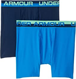 2-Pack Solid Performance Boxer Set (Big Kids)