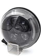 CPOWACE Motorcycle Front LED Headlight Assembly Compatible for Ducati Scrambler