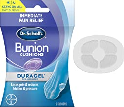 Bunion Cushion with Duragel Technology, 5ct // Cushioning Protection Against Shoe..