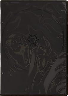 Hama 51181 - Caja Slim para DVD, 10 Unidades, Negro