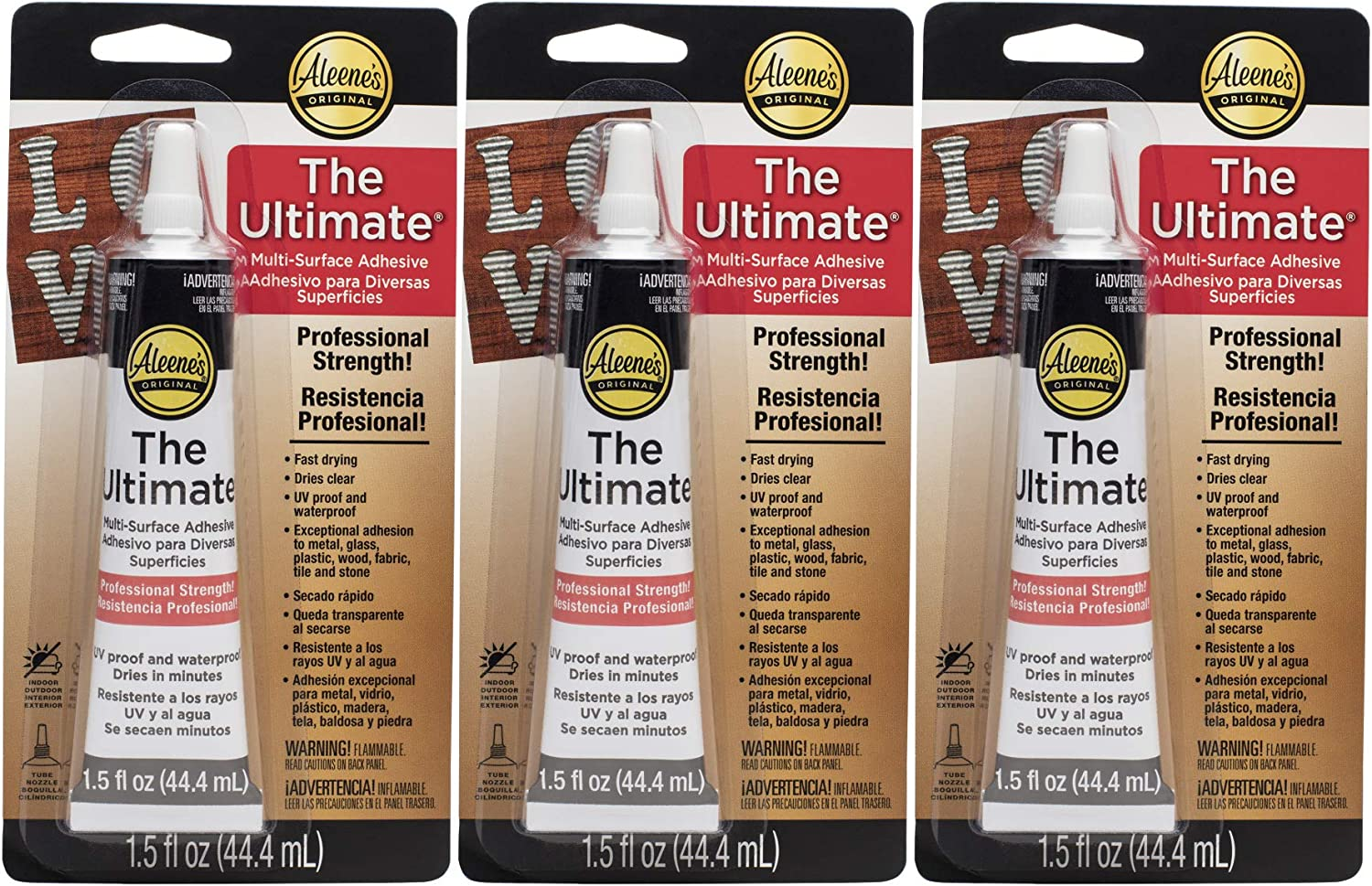 Aleene's The Year-end annual account Ultimate Now free shipping Multi-Surface Pack Adhesive 3