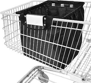 achilles Einkaufswagentasche faltbar mit Kühlfach und Flaschenfächer, Easy-Carrier, Einkaufstasche für alle gängigen Einka...