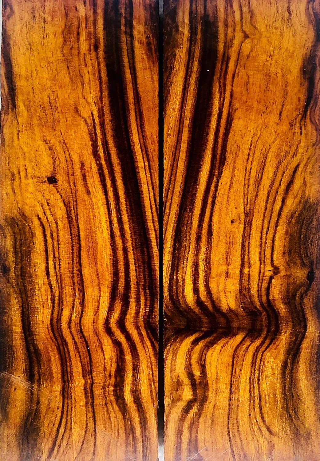 Bookmatched Ironwood Knife Scales