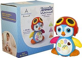 PALESTRAKI Juguete Gatear - Electrónico Robot pingüino Mono Bailando para niños Desde 9 Meses