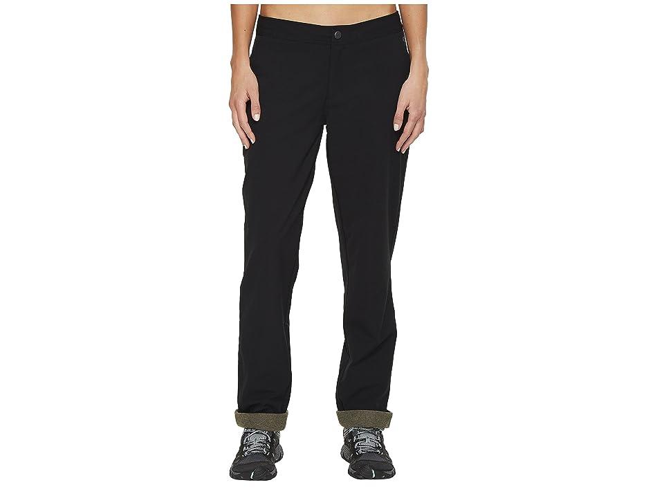 Mountain Hardwear Right Bank Lined Pants (Black) Women