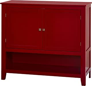 Target Marketing Systems Montego Collection Buffet Cabinet, Red