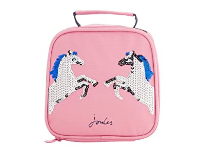 Joules Kids Munch Bag (Big Kids) (Pink Sequin Horse) Clutch Handbags