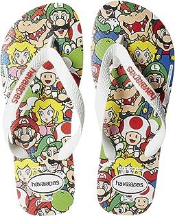 Mario Bros Flip-Flops