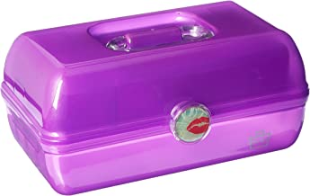 Caboodles On the Go Girl Classic Case, Purple, 2.4 Pound