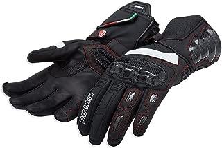 Ducati Performance C2 Leather Gloves 981040066 (XL, BLACK)