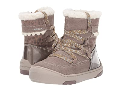 Geox Kids Jayj 1 (Toddler) (Smoke Grey) Girls Shoes