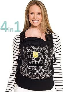LÍLLÉbaby 4-in-1 Essentials Original Ergonomic Baby & Child Carrier, Circle of Love - 100% Cotton