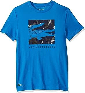 Lacoste Men's Sport Short Sleeve Nd Fan Capsule Logo Tee