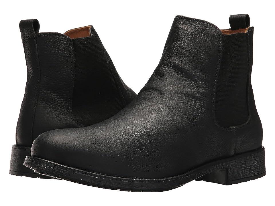Massimo Matteo Chelsea PT Boot (Black) Men