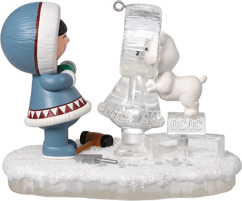 Hallmark FROSTY FRIENDS SURPRISE 2019 Miniature Ornament Eskimo