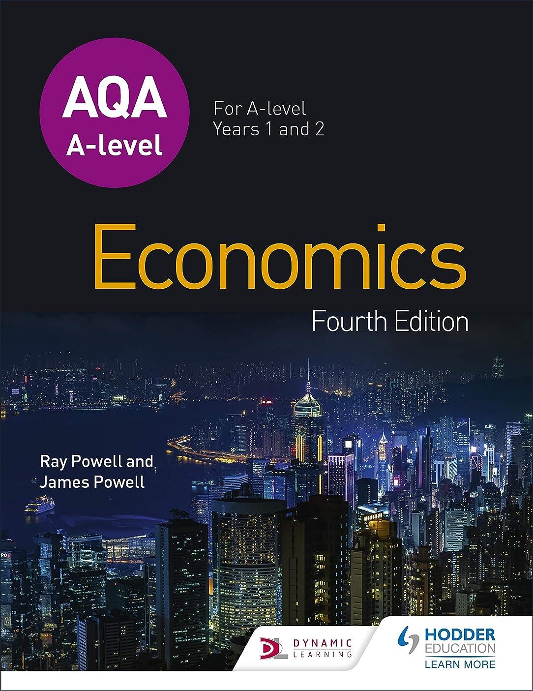 調停者硬い分類AQA A-level Economics Fourth Edition (English Edition)