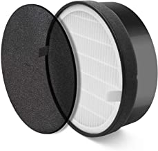 LEVOIT Air Purifier LV-H132 Replacement, True HEPA and Activated Carbon Filters Set, LV-H132-RF, 1 Pack