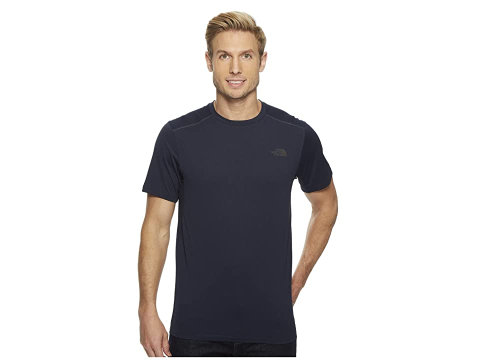 The North Face Kilowatt Short Sleeve (Urban Navy Heather) Men