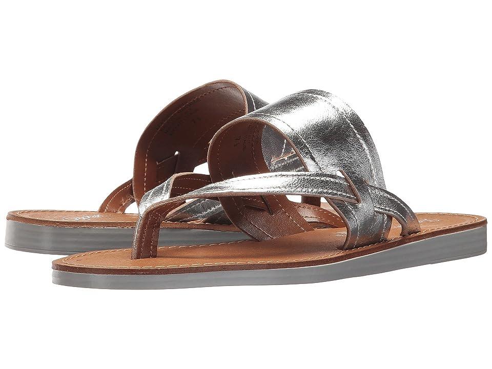 Seychelles Mosaic (Silver Leather) Women's Sandals