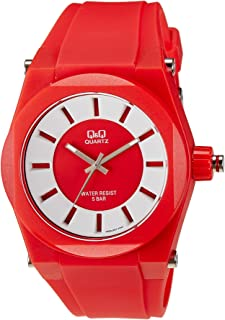 Q&Q For Unisex Silicone Band Watch