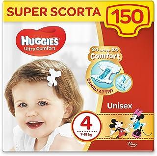Pañales Huggies Ultra Comfort 150 unidades Taglia 4