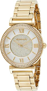 Michael Kors Women's Catlin Gold-Tone Watch Mk3332, Analog Display