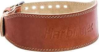 Harbinger Classic Oiled Leather Weightlifting Belt