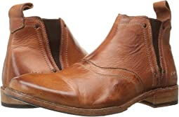 Cognac Dip Dye Leather