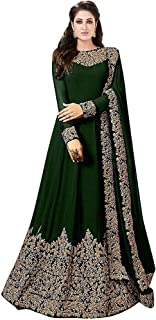 Royal Export Women's Georgette Long Salwar Suit (Free Size)