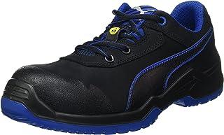 PUMA Argon Blue Low, Chaussures de sécurité Argon Low S3 ESD SRC Taille 41 Bleu Mixte