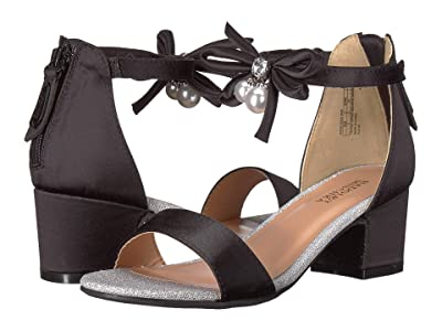 Badgley Mischka Kids Pernia Pearl Bow (Little Kid/Big Kid) (Black) High Heels