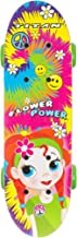 Titan Flower Power Princess Complete Skateboard for Girls (5+ Ages), 17-Inch, Multi-Color