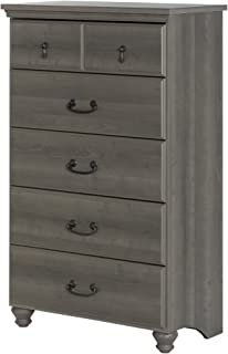 South Shore Noble 5-Drawer Chest,Gray Maple