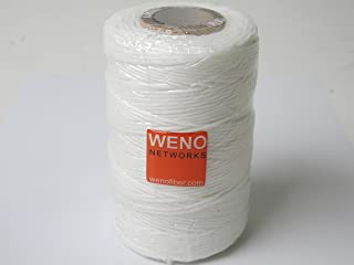 WAXED LACING CORD TWINE / CABLE TIE DOWN, POLYESTER, 9-PLY, 189 YARDS, 567 FEET, TENSILE STRENGTH: 105 LBS