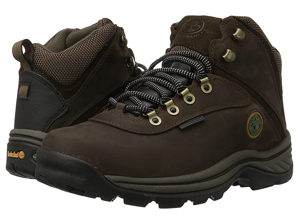 Timberland White Ledge Mid Waterproof (Brown) Men's Hiking Boots