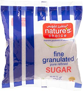 Natures Choice Granulated Sugar, 500 gm